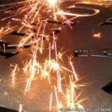 indústria de corte de chapas de aço a plasma Paraíso das Águas